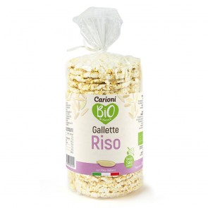 GALLETTE BIO RISO INTEGRALE (SENZA SALE)