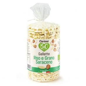 GALLETTE BIO RISO INTEGRALE E GRANO SARACENO